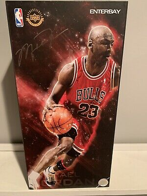 $350 • Buy New Enterbay Real Masterpiece RM-1042 NBA Michael Jordan Series 1 Legend 1/6