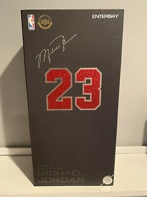 $335 • Buy Authentic ENTERBAY Michael Jordan Series 2 The Last Shot - 23 Black Uniform