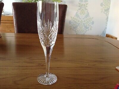 Royal Doulton Crystal Champagne Flute Lovely Condition • 0.99£
