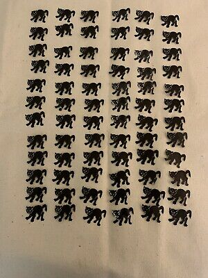 $ CDN31.71 • Buy Lot Of 72 Vintage Dennison Halloween Cutouts Seals Black Cat