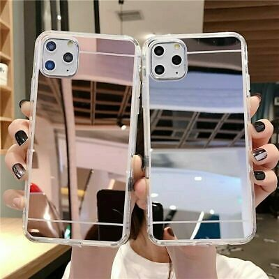 For IPhone 12 11 Pro Max XR X XS 8.7 Mirror Phone Case TPU Hard PC Back Cover  • 3.29£
