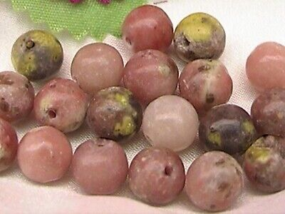 $ CDN1.99 • Buy Natural Pink Lepidolite Gemstone, Round Beads, 2 Sizes Available: 4mm And 6mm
