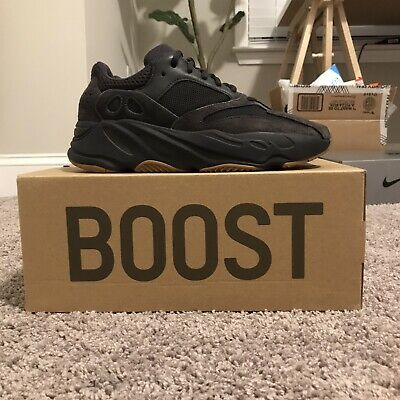 $ CDN400.02 • Buy Adidas YEEZY Boost 700 Utility Black Size Mens 8.5 Pre-Owned- Condition (9/10)