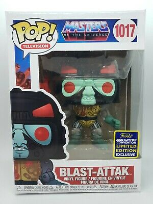 $44.99 • Buy 2020 SDCC Exclusive Masters Of The Universe (Blast-Attak) Funko Pop! #1017