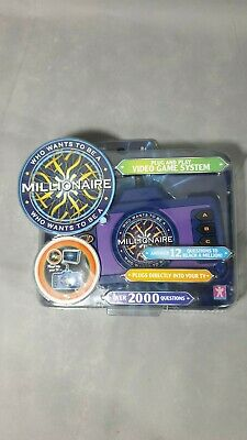 NEW Who Wants To Be A Millionaire Plug And Play Console TV Family Fun Game RARE • 29.99£