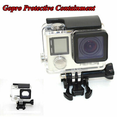 $ CDN11.08 • Buy Fit For Gopro Hero 4 Cover Case Housing Case Protector Waterproof Transparent