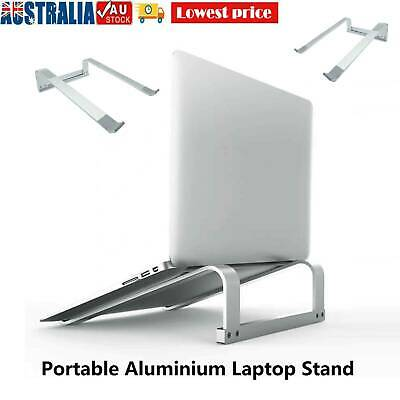 AU14.99 • Buy Portable Aluminium Laptop Stand Tray Holder Riser For Ipad MacBook Notebook AU
