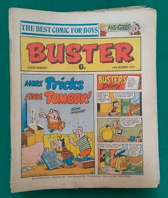 Buster And Buster+Monster Fun Comic Job Lot Of 26 Issues 1975-77 Not Complete • 5£