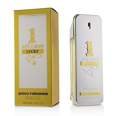 AU157.95 • Buy 1 Million Lucky By Paco Rabanne 200ml Edts Mens Fragrance