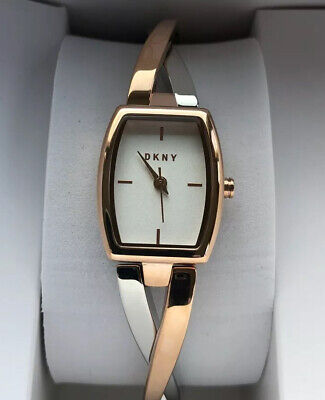 Ladies DKNY Rose Gold And Silver Watch BNWT RRP: £129.00 • 24.99£