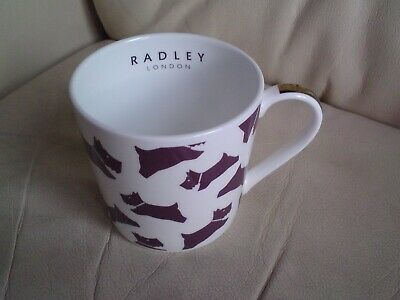 Radley London  Scottie Dog Tea /coffee Mug,fine Bone China,vgc. • 19.99£