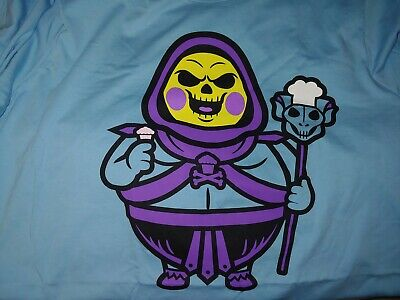 $32 • Buy Johnny Cupcakes Skeletor Big Kid 3XL Masters Of The Universe 80s