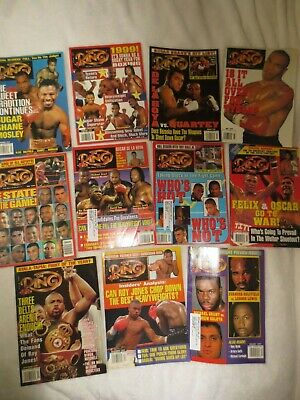 $16.50 • Buy 1999 Ring Magazine Year Set- 11 Issues- Very Good To Very Fine Condition