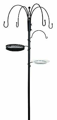 Gardman Decorative Bird Feeding Station - Black • 24.99£