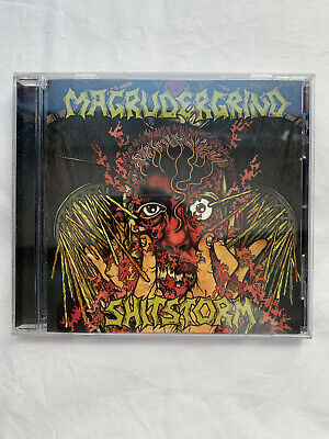 $11.20 • Buy Magrudergrind / Shitstorm CD Robotic Empire Powerviolence Grindcore 2006 Rare
