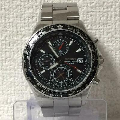 $ CDN201.56 • Buy SEIKO Seiko CHRONOGRAPH 100M 7T92-0CF0 17cm Analog Watch Working Men