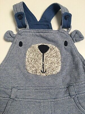 Baby Boy Dungarees 12-18 Months F&F • 2.20£