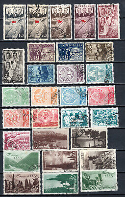 Russia 1938 Ussr Selection Of Used Stamps • 1.99£