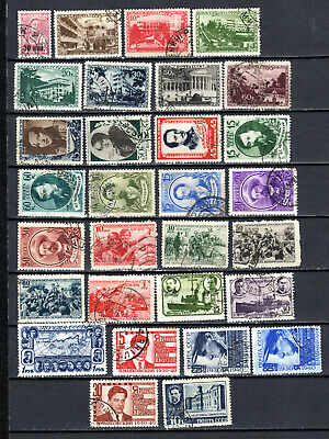 Russia 1939-1940 Ussr Selection Of Used Stamps • 1.99£