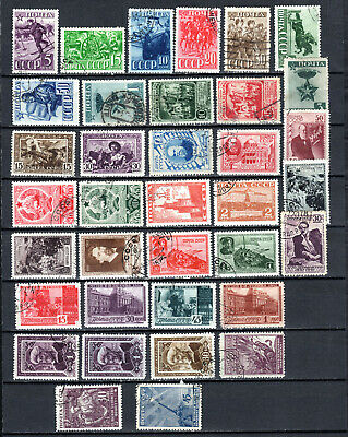 Russia 1941-1942 Ussr Selection Of Used Stamps • 1.99£