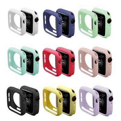 AU5.95 • Buy For Apple Watch Series 1 2 3 4 5 Body Protector Silicone TPU Case Cover Bumper