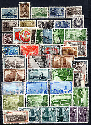 Russia 1946-1947 Ussr Selection Of Used Stamps • 1.99£