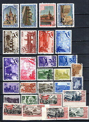 Russia 1947 Ussr Selection Of Used Stamps • 1.99£