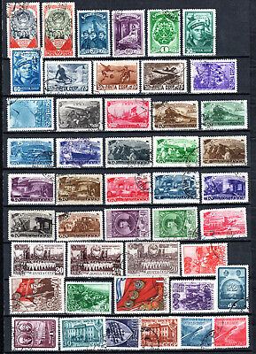 Russia 1948 Ussr Selection Of Used Stamps • 1.99£