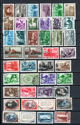 Russia 1948-1949 Ussr Selection Of Used Stamps • 1.99£