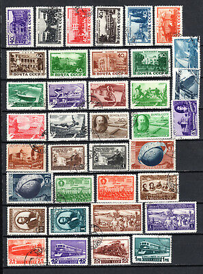 Russia 1949 Ussr Selection Of Used Stamps • 1.99£