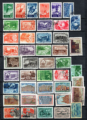 Russia 1949-1950 Ussr Selection Of Used Stamps • 1.99£