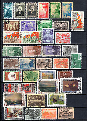 Russia 1950-1951 Ussr Selection Of Used Stamps • 1.99£