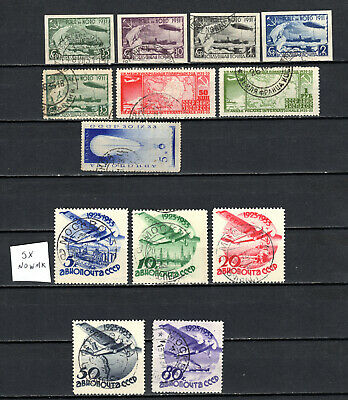 Russia 1931-1934 Ussr Selection Of Used Stamps • 1.99£
