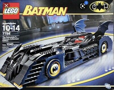Lego BATMAN Set 7784 Pre-owned, The Batmobile Ultimate Collector's Edition, 100% • 199.99£