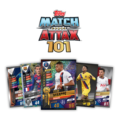 Match Attax 101 2019/20 2020 Limited/ Stars #w1-#w62 100/ Golden /  Exclusives • 5.99£