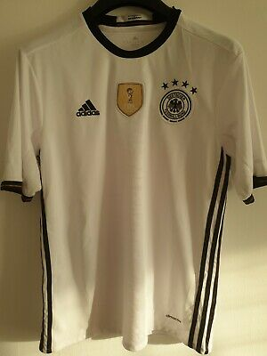 Bnwt Adidas Germany Fifa World Champions 2014 Soccer Football Shirt Size Uk • 9.99£