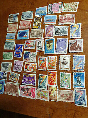 Russia Cccp Selection Of Used Stamps  • 5£