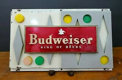 $ CDN21.08 • Buy Vintage Budweiser Metal Sign King Of Beers Embossed/Raised Metal Sign 12 X 7.5
