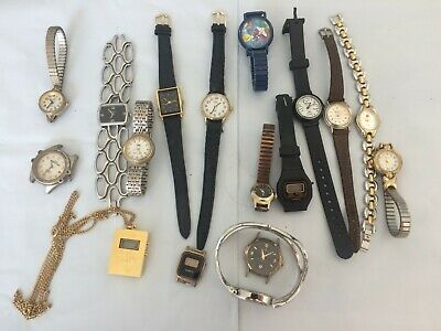 $ CDN9.37 • Buy Vintage Huge Lot Of Women's Watches - Fossil/Timex/More