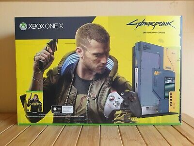 AU899 • Buy MICROSOFT XBOX ONE X CYBERPUNK 2077 1TB Limited Edition Console BRAND NEW SEALED