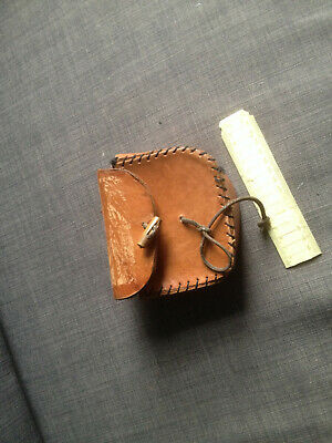 Leather Belt Pouch (for Reenactment/LARP) • 6.50£