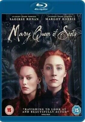 Mary Queen Of Scots (Blu-ray 2018) Nearly New Region Free • 1.29£