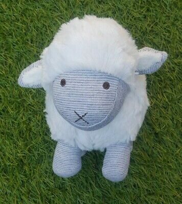 Mamas And Papas - Sheep / Lamb Baby Rattle Soft  Toy - Chime - Comforter  • 2.99£