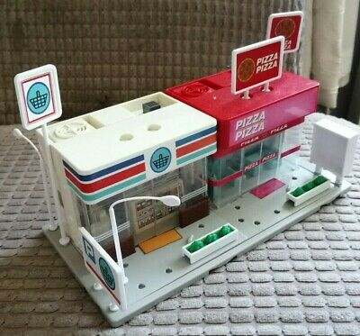 Tomy Tomica Hypercity Supermarket And Pizza Shop • 13£