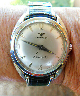 $ CDN257.05 • Buy Vintage 1960's Mens Wittenauer Automatic Stainless Steel Watch
