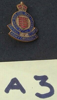 Royal Army Ordnance Corps (RAOC) Pin Badge (A3) • 5.49£