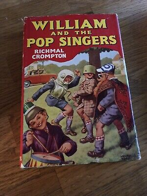 William And The Pop Singers First Edition Richmal Crompton Hardcover Dust Jacket • 35£