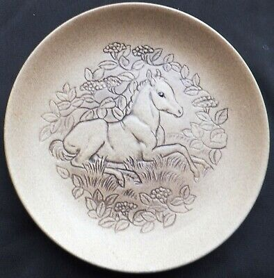 New Forest Pony Poole Stoneware 5  Plate Designed By Barbara Linley Adams • 3£