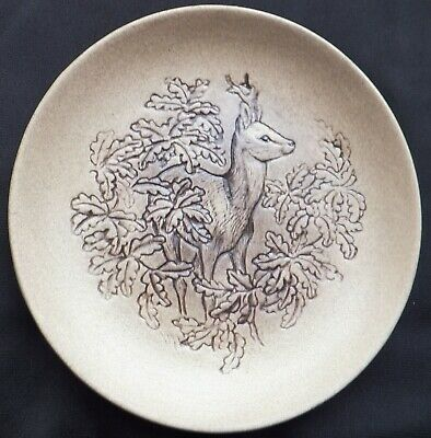 Stag Deer New Forest Poole Stoneware 5  Plate Designed By Barbara Linley Adams • 3£