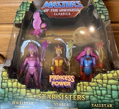 $55 • Buy Star Sisters MOTUC Masters Of The Universe Classics Complete With Mailer Box